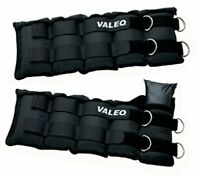 Two 10-pound Adjustable Weights For Ankles Or Wrist Exercise Padded Comfort