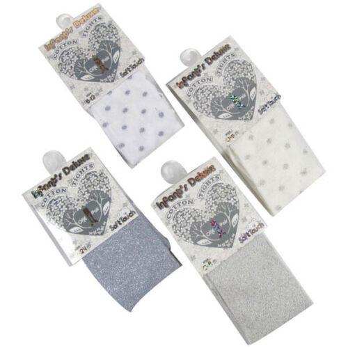 Bébé filles métallique collants-party shiny glitter collants-single pack