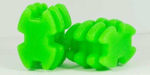 Pair of Green LimbSaver Split Limb Super Quad Dampeners Silencers