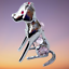 Crystocraft-Dog-Crystal-Pet-Ornament-With-Swarovski-Elements-Boxed-Pink-Silver thumbnail 6