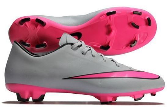 cf354c341 Fire Nike Men s Mercurial Victory V FG Soccer Cleat Grey US 11 for sale  online