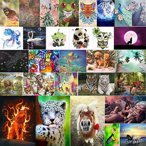 Diamond Painting Animal Cross Stitch Embroidery Craft Kits Wall Art Home Decor
