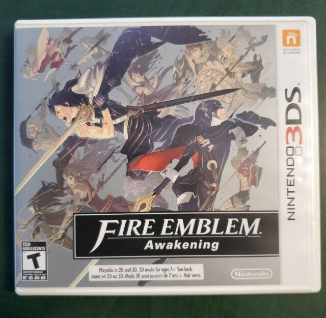 Fire Emblem: Awakening (Nintendo 3DS, 2013) ***Tested