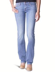 Modern Dames W30 Jeans Straight Rise Authentiek Levi's L34 Nieuw wzqzPEAnx