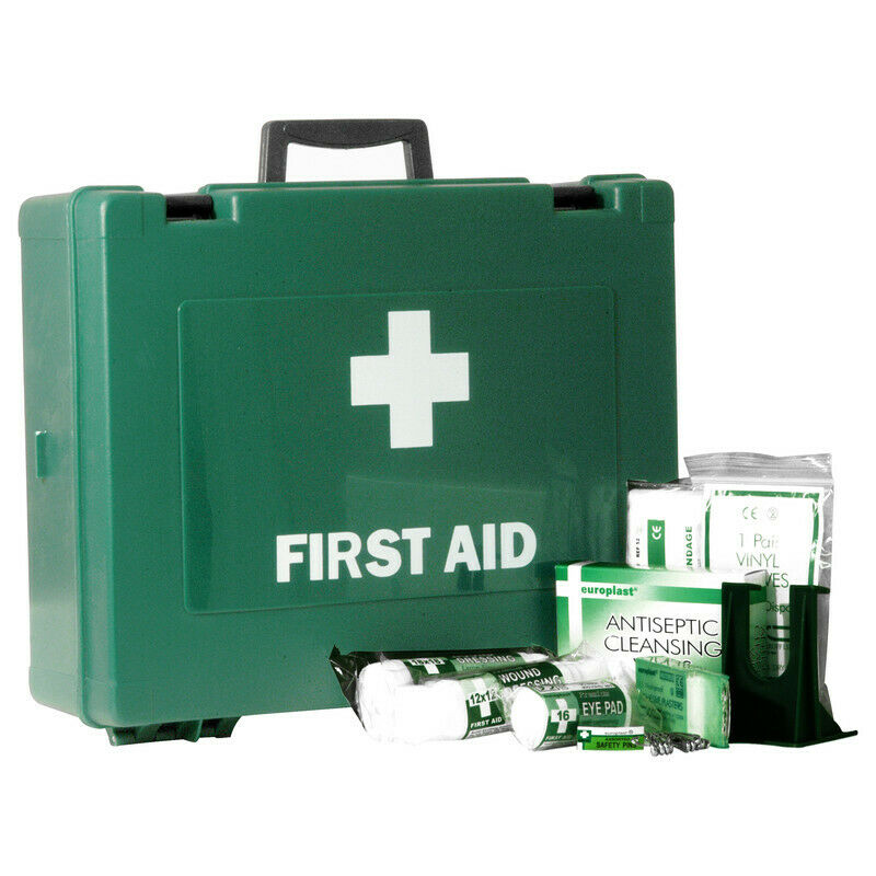 NEW HSE Compliant First Aid Kit Large 1 - 50 People UK SELLER, FREEPOST