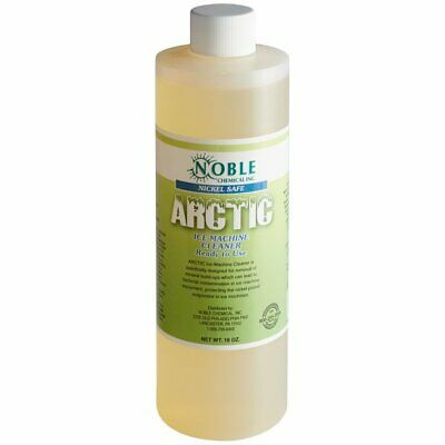 12 Pack Noble Arctic Ice Machine Cleaner Nickel Safe 16 oz ...