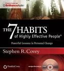 The 7 Habits of Highly Effective Families by Dr Stephen R Covey (CD-Audio, 2015)