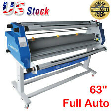 63 1600mm Hot Cold Roll Laminator Full Auto Low Temp Seal Laminating Machine