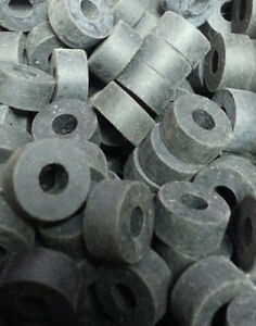 2681-Pack-of-20-Black-Rubber-Washers-A-525-B-211-C-1-4-inch