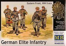 "1/35  Master Box  ""German Elite Infantry"", Eatern Front, WWII era - 5 Fig"