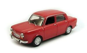 Simca 1150 Abarth Rouge - 1963 Meilleur 1/43