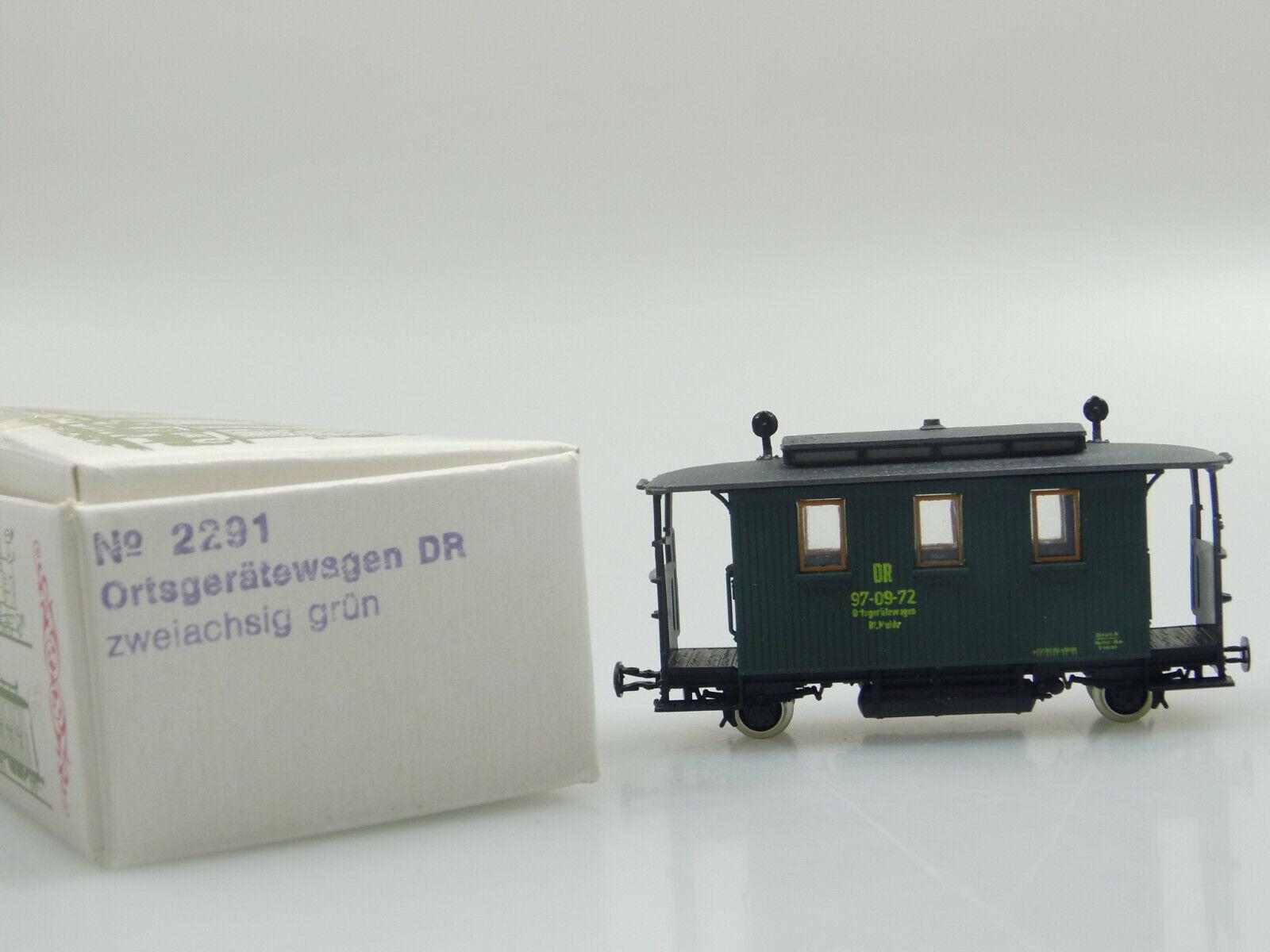 Techno modello h0e 2291 dispositivi locali carrello DR OVP