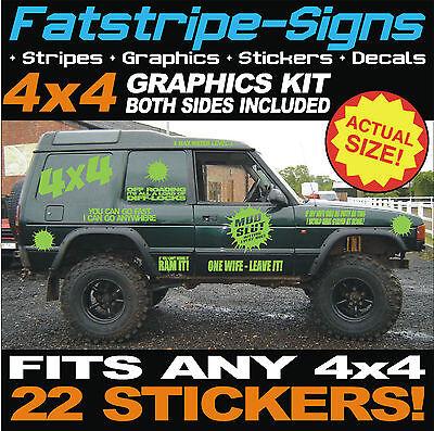 SUV Wheels ref38 Off Road Stickers 4x4 Logo-Adhesive 4x4