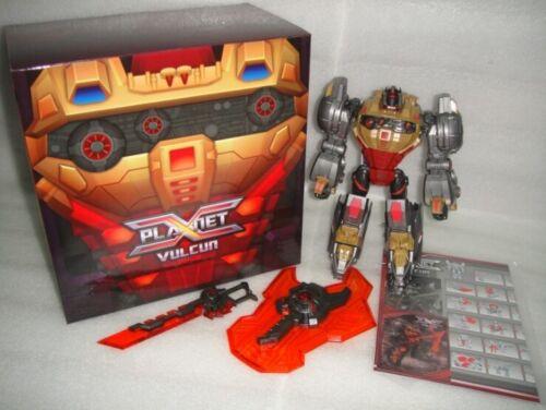 NEW Planet X Transformers PX-06 Dinobot Vulcun Grimlock In Stock