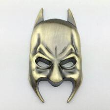 Metal Chrome Batman Mask Logo Badge Car Rear Trunk Bronze Emblem Decal Sticker