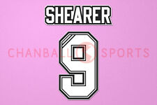 Shearer #9 1996-1997 Newcastle Homekit/Awaykit Nameset Printing