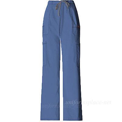 Dickies Scrub Pants Mens Youtility Medical Scrubs Drawstring Cargo Pant 81003