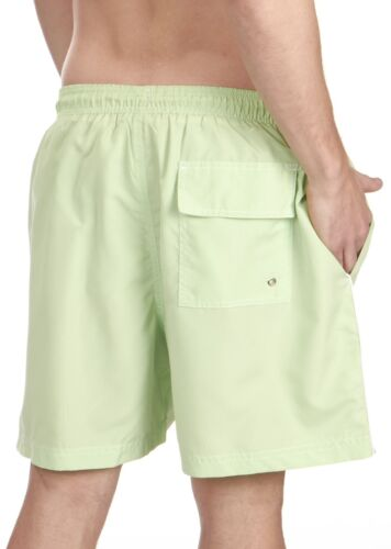Cargo Bay Mens Swim Shorts with Contrast Side Piping