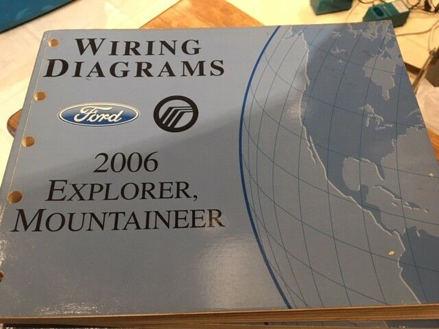 Ford Wiring Diagrams - 2006 Explorer, Mountaineer, FCS ...