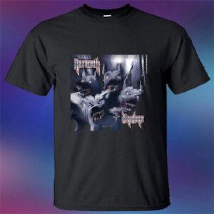 71ba3cb59f6769 New Nazareth Big Dogz Rock Band Legend Album Men s Black T-Shirt ...
