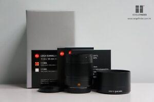 Brand New Leica Summilux-TL 35mm F1.4 ASPH - Black for Leica SL / T (11084)