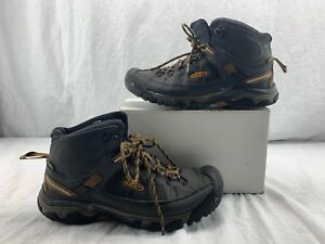 f7214ad67a3 Details about Keen Men's Targhee Exp Mid Wp-m Hiking Boot 1018545  Raven/Inca Gold SIZE 9.5