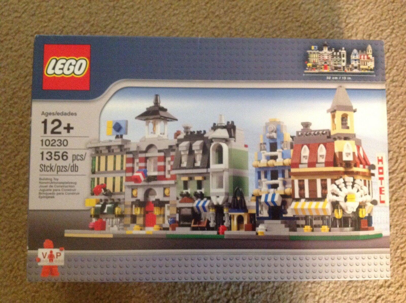 Lego 10230  rare retiROT 10230 Creator Mini Modulars Lego Shop Exclusive NIB