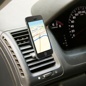 Car Magnetic Air Vent Mount Holder Stand For iPhone SE 5 6 6S Plus Samsung Note
