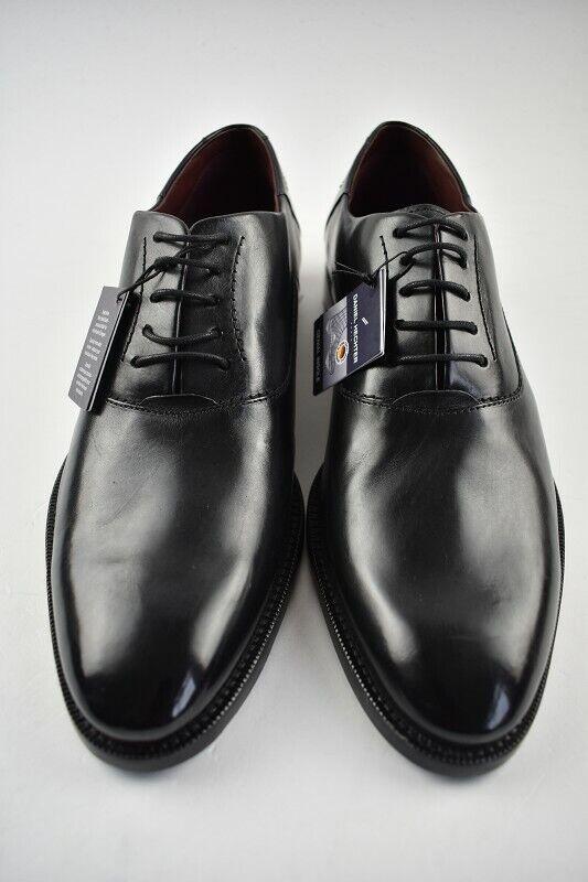 Daniel Hechter Business-Schuh black Leder in der Gr. 42