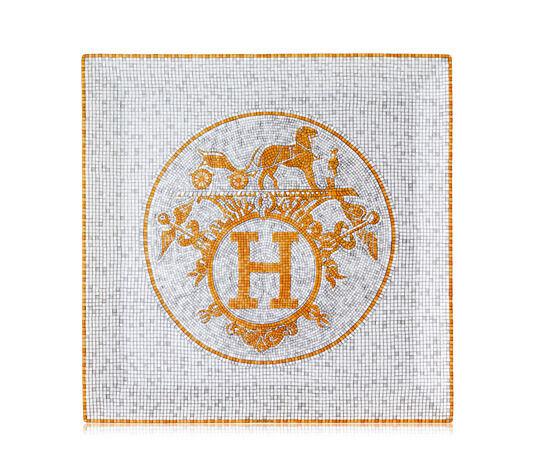 Hermes Mosaique Au 24 Piastra Quadrata N° 5,23.1cm x 23.1cm