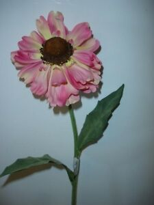 Pack 6 stems large pink coronatium daisy bloom artificial silk image is loading pack 6 stems large pink coronatium daisy bloom mightylinksfo