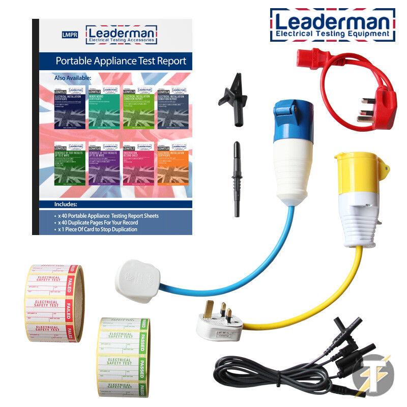 utilizzare con i dati lead per il download Adattatore USB per Seaward PAT tester