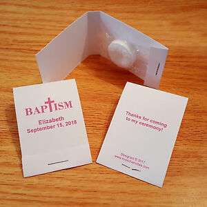 50-Personalized-Baptism-Mintbook-Party-Favors-Mint-Book-Matchbook-Style-Pink