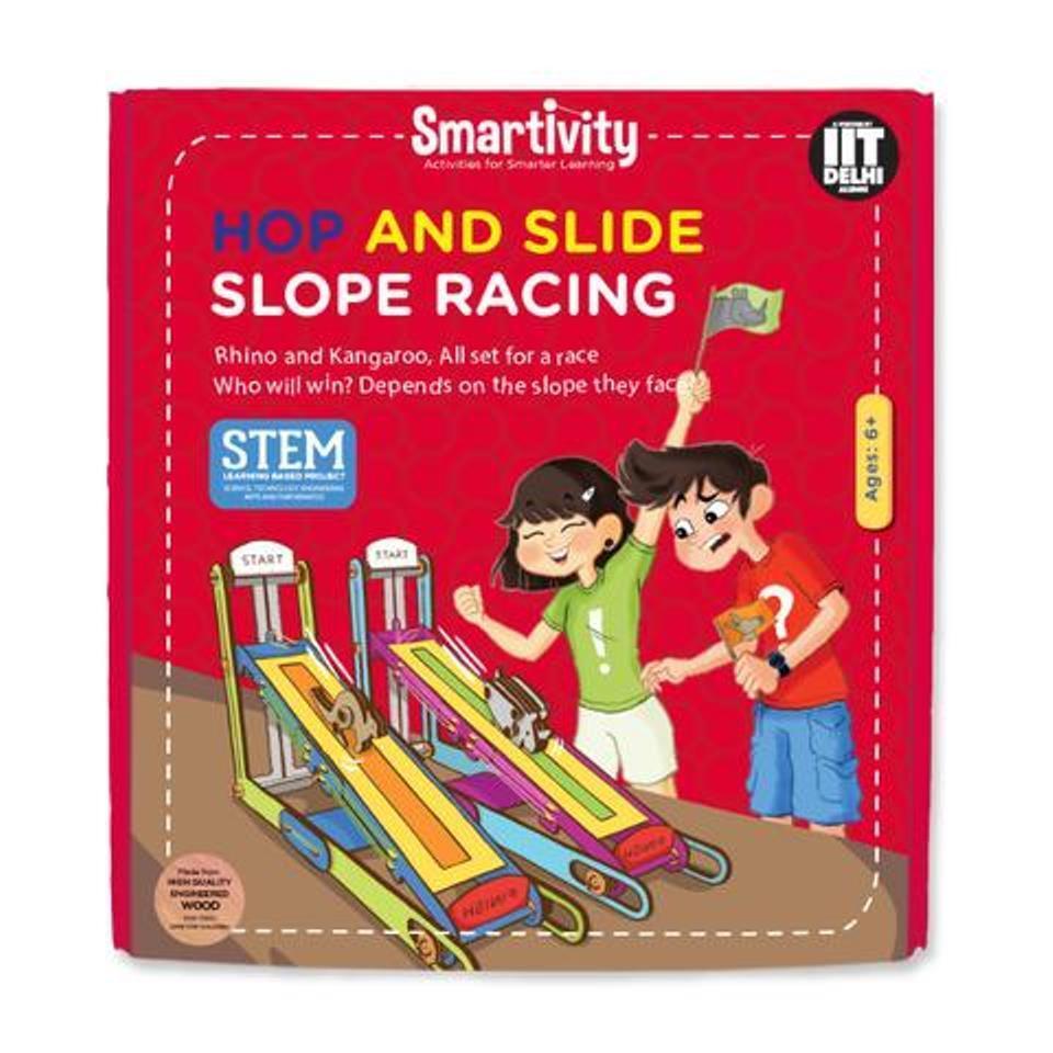 Età 6+ Science Kit fai da te smartivity Hop e scivolo pendenza Racing