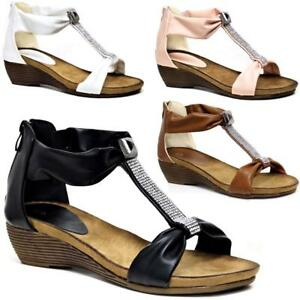 LADIES-WEDGE-SANDALS-WOMENS-HEELS-NEW-FANCY-SUMMER-DRESS-PARTY-BEACH-SHOES-SIZE
