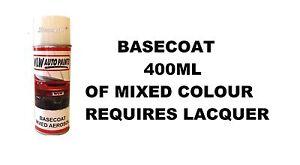 CITROEN C3 MK3 Coche Pintura Corporal Uñas Aerosol//Retocar Rayones Reparación mixto