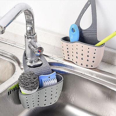 Practical Kitchen Sink Storage Basket Sponge Holder Kitchen Organizing Hook  | eBay