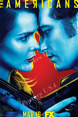 TVS358 Posters USA The Americans TV Show Series Poster Glossy Finish