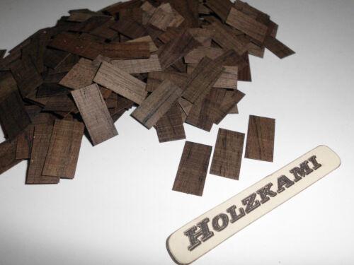 Dachschindeln  Holzschindeln Palisander 250 Stück Rechteckig 20 x 10 x 1mm