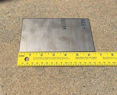 """0.125/"""" x 12.5/"""" x 12.5/"""" ATI 425// Grade 38 Titanium Armor Plate"""