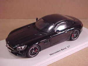 Spark-S1073-1-43-Resina-2016-Mercedes-Amg-Gt-034-Serie-Negra-034-Coupe-con-LHD