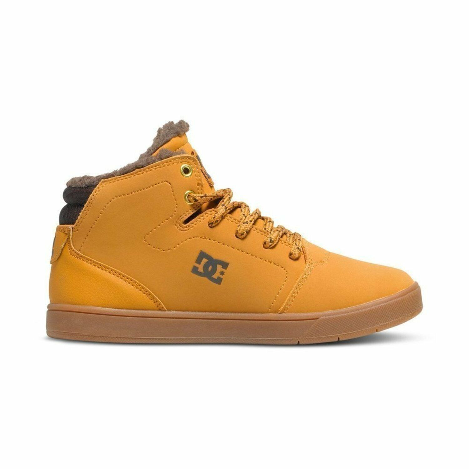 DC shoes Kids Crisis High Wnt Wheat Fw 2017 Baby Shoes New 33 34