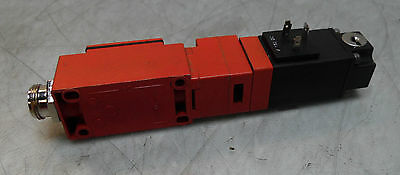 Telemecanique Limit switch body w/ Solenoid, # XCK-J, 110VDC Solenoid, Used