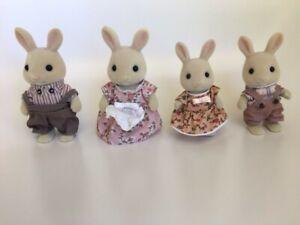 Milk-Rabbit-Family-Animal-Figures-Sylvanian-Families-Free-Shipping