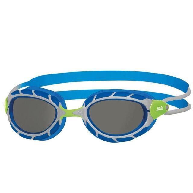 Zoggs Junior Predator Swim Goggles FINA Approved Blue/Grey