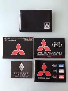 Mitsubishi-1997-Eclipse-Factory-Original-Owners-Manual-Portfolio-Complete