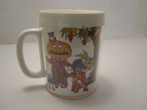 1978 Ronald McDonalds Hamburglar Thermo-Serv Plastic Mug/Cup Mayor McCheese