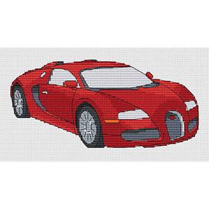 Bugatti-Veyron-Cross-Stitch-Design-kit-o-el-cuadro