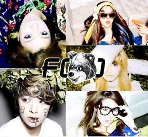 F(X) [ELECTRIC SHOCK] 2nd Mini Album CD+Photobook FX K-POP ... F(x) Electric Shock Album Cover
