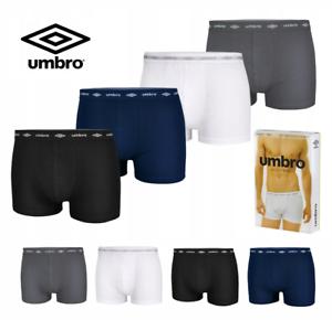 02bba2bc51 Das Bild wird geladen UMBRO-4-Pack-Boxershorts-Herren-Unterwaesche-M-XXL-